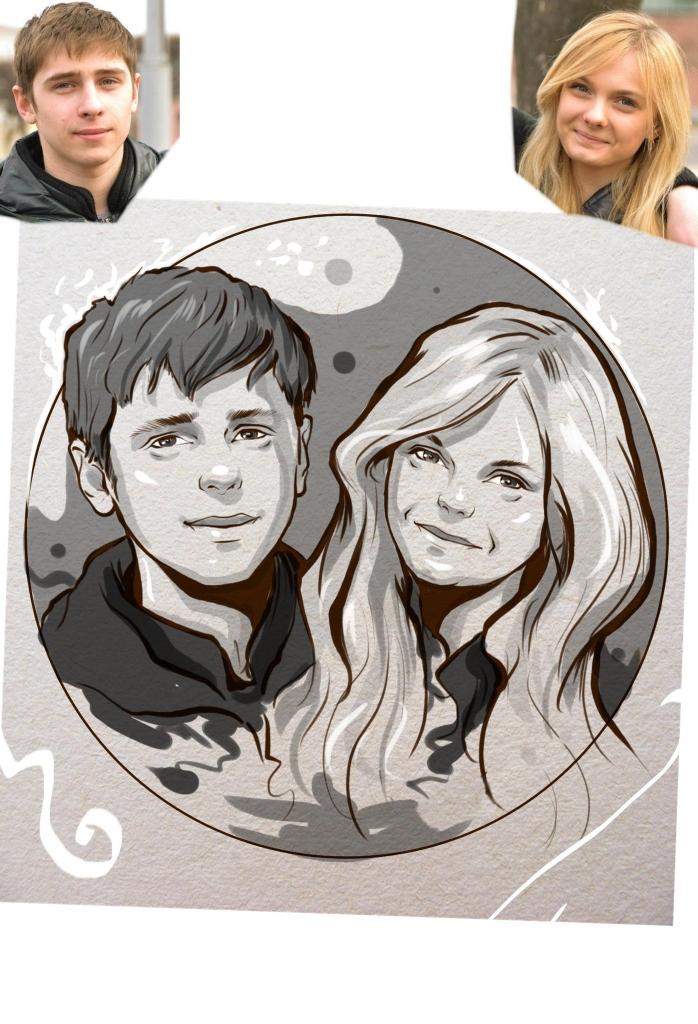 Заказать портрет на годовщину свадьбы в Ярославлье