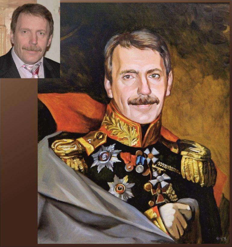 Настоящий портрет маслом на заказ в Ярославлье…