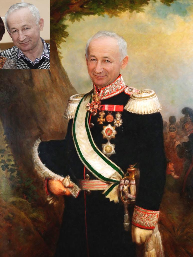 Где заказать исторический портрет по фото на холсте в Ярославлье?