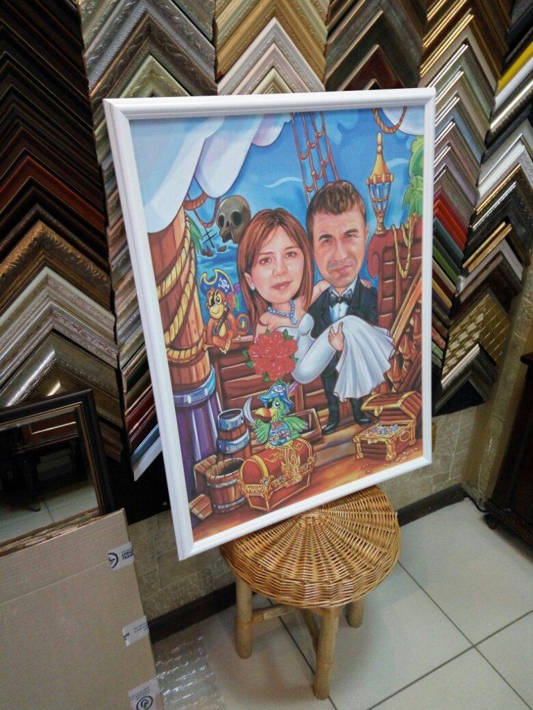 портрет шарж на заказ в ярославле