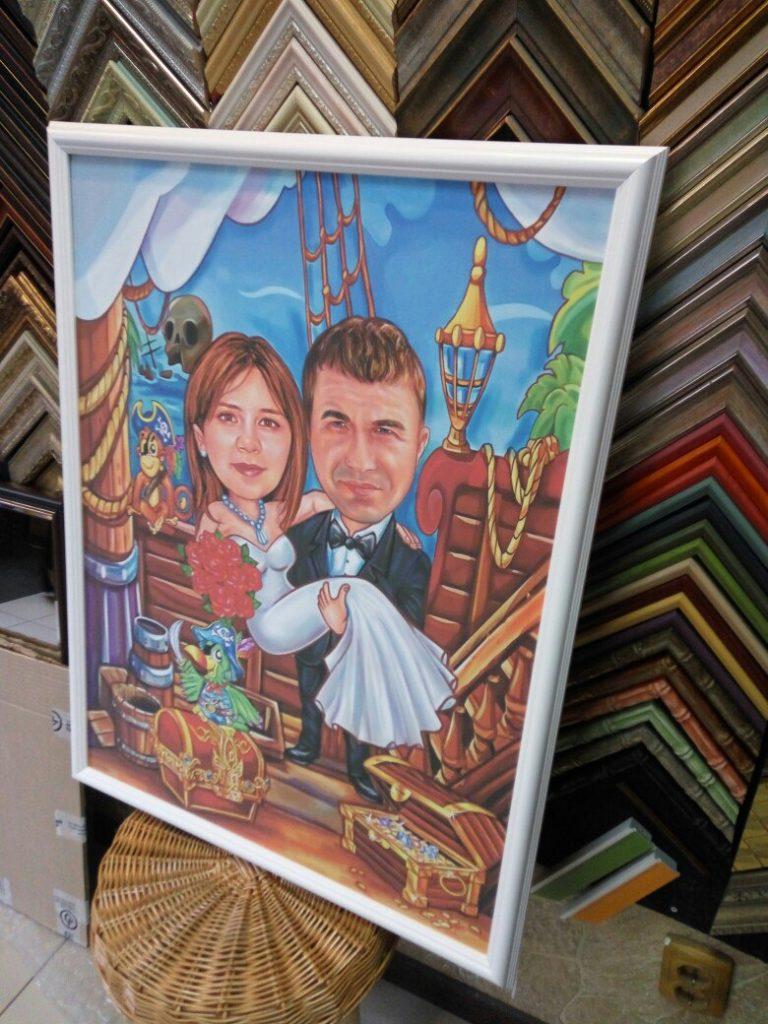 шарж по фото на заказ в ярославле