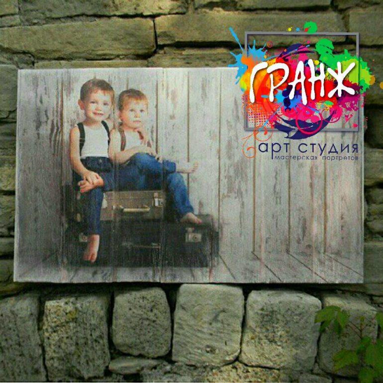 Картины на досках и портреты на дереве в стиле лофт на заказ купить Ярославль
