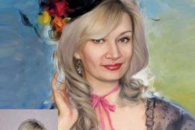 Заказать арт портрет по фото на холсте в Ярославле