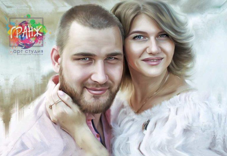 Где заказать портрет по фотографии на холсте в Ярославле?
